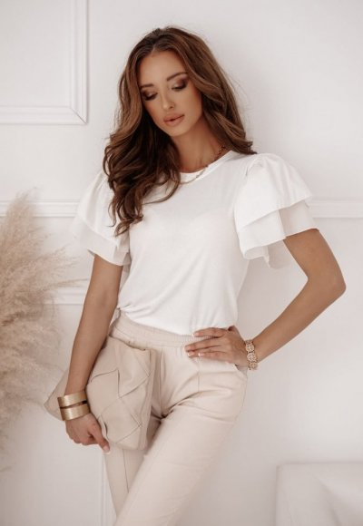 Sweter SOMBRE white