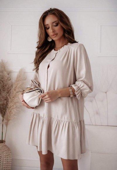 Sukienka VIKA beżowa