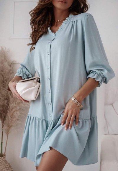 Sukienka VIKA niebieska