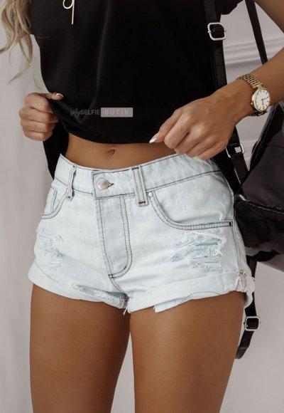 Szorty MAISON jasny jeans