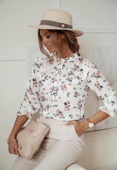 Koszula ROSE w drobne kwiatuszki