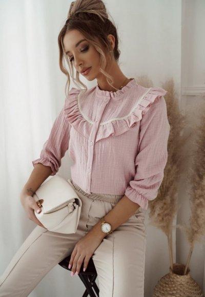 Koszula LAMBERT różowa