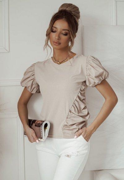 Bluzka POLLY beige