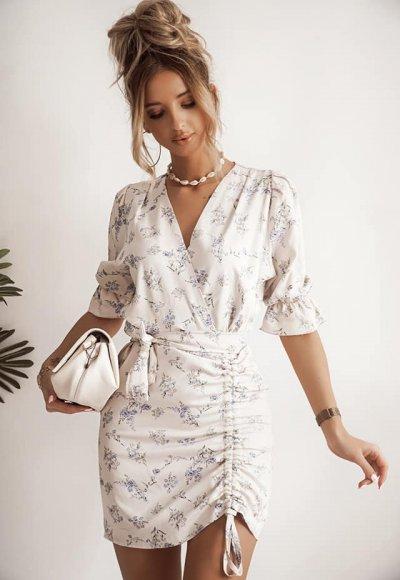 Kwiecista sukienka NEVADA