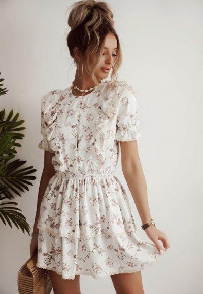 Sukienka MARI w kwiatowy wzór- PRE ORDER 23.04