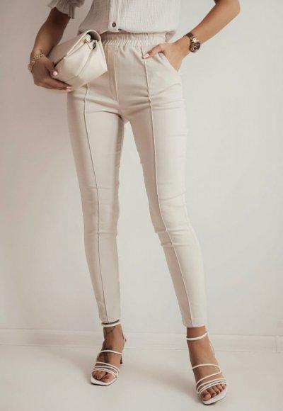 Jasnobeżowe spodnie GOMERO