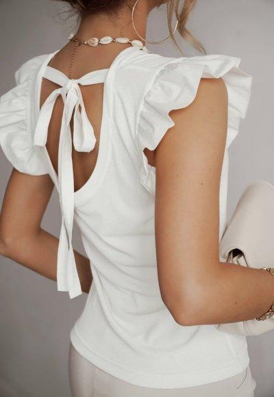 Bluzka NONI biała