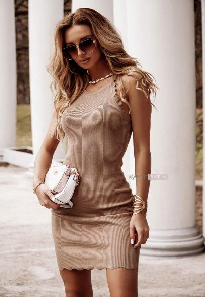 Sukienka GOLDEN beżowa