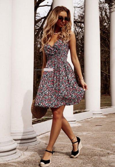 Sukienka FIORE w drobne kwiatuszki PRE ORDER 23.04