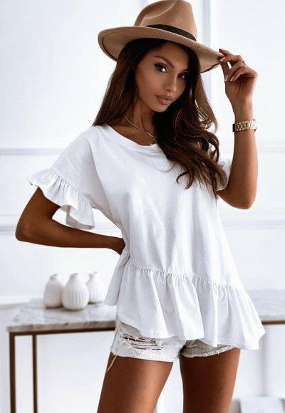 T-shirt TOBY biały