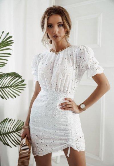 Sukienka PATRICIA biała