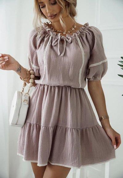 Sukienka ISABELL muślinowa