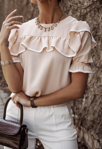 Bluzka SIMPLE beżowa