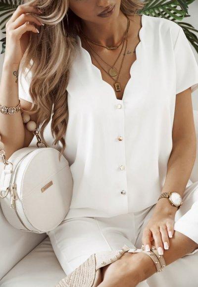 Koszula ALICE biała