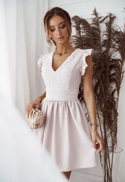Sukienka NATALY II light beige