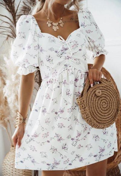 Sukienka RAMONA w kwiatowy print