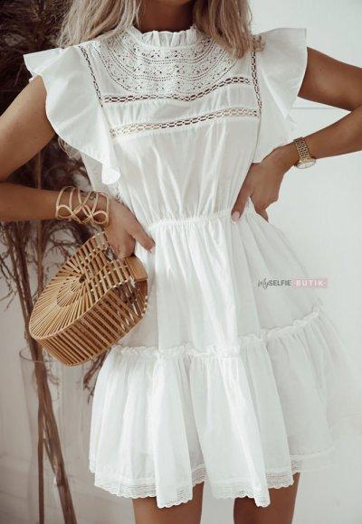 Sukienka HAWAII biała