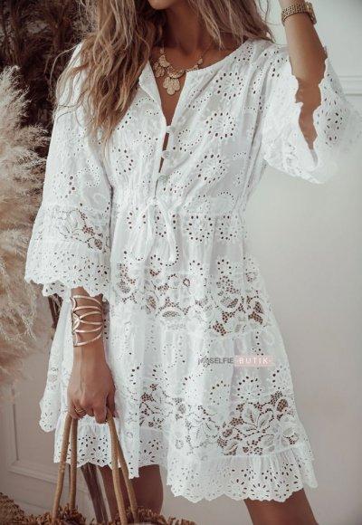 Sukienka PLAYA biała