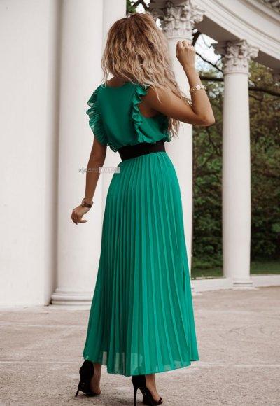 Sukienka BUTTERFLY green tea