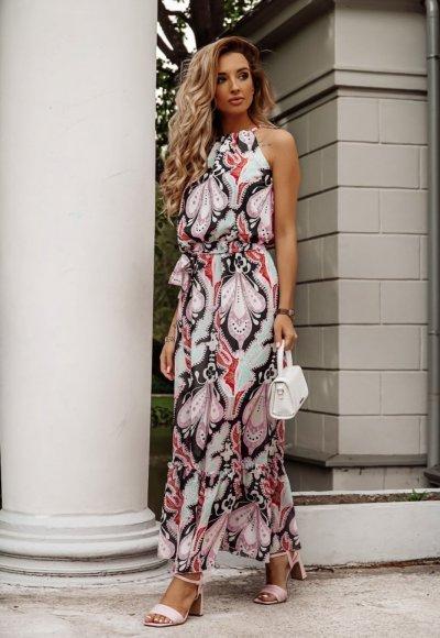 Sukienka DACOTA we wzory