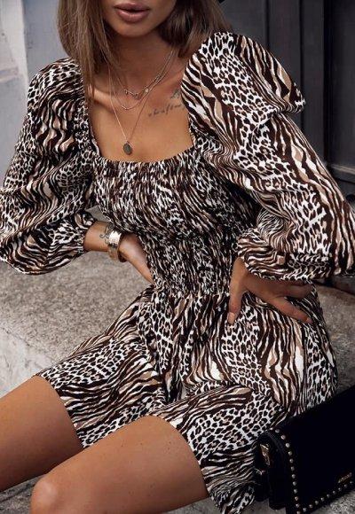 Sukienka NEVADA w zwierzęcy wzór
