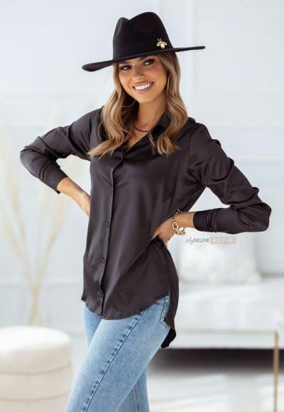 Koszula SATIN czarna