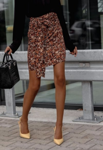 Spódnica MEG w kwiatowy print