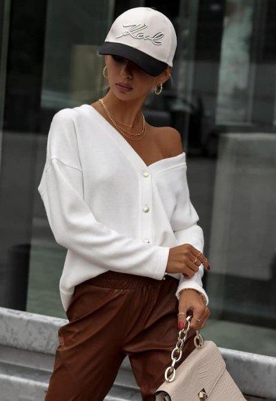 Sweter BALEO biały