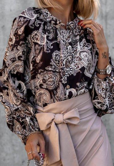 Bluzka MILO w turecki wzór