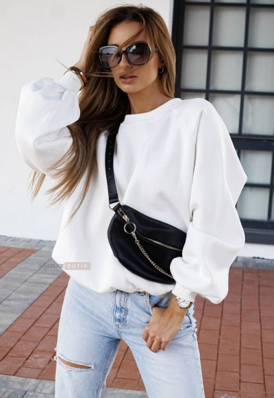 Bluza MORGAN biała