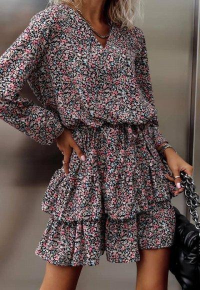 Sukienka LAURELIA w kwiatowy print