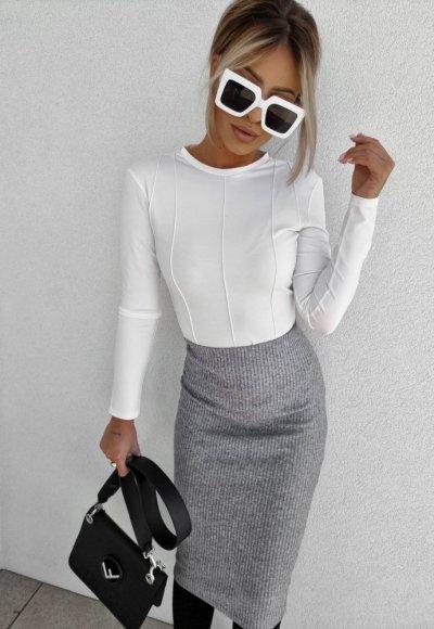 Bluzka VOGUE biała 1