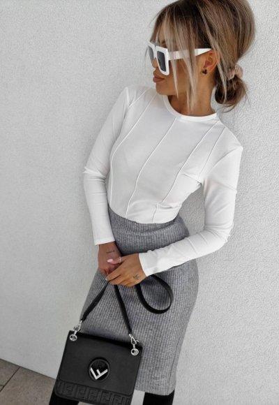Bluzka VOGUE biała 2