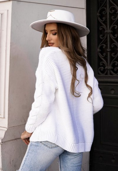Sweter MIRO biały 2