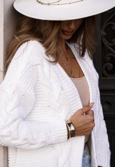 Sweter MIRO biały 3