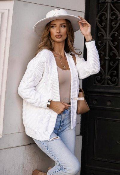 Sweter MIRO biały 1