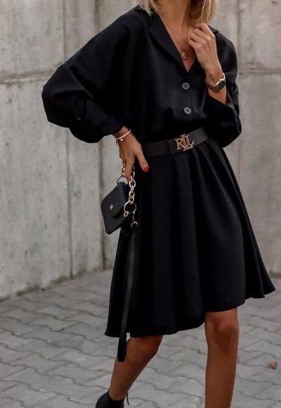 Sukienka FOLLONICA czarna