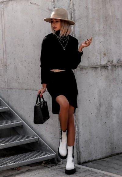 Sukienka ANABELL czarna