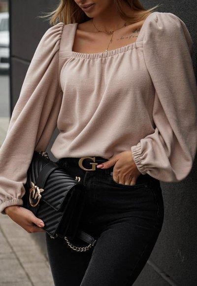 Bluzka LIGARO beżowa