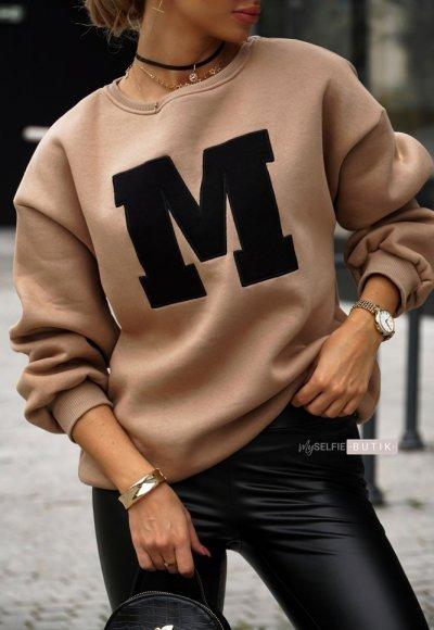 Bluza MEL ciemnobeżowa