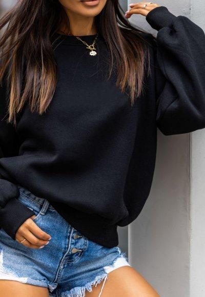 Bluza MORGAN czarna