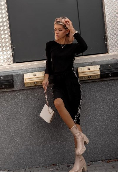 Sukienka LAMOUR czarna 3