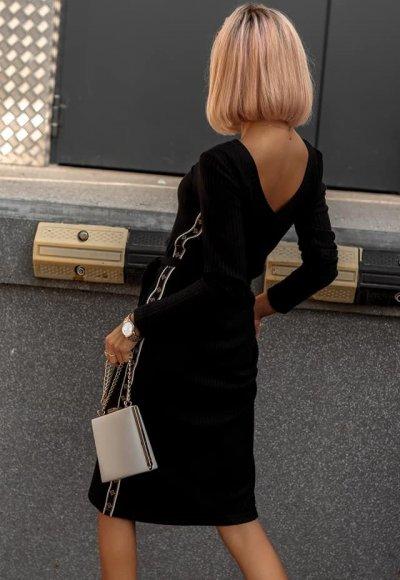 Sukienka LAMOUR czarna 1