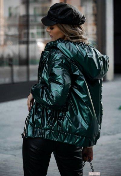 Kurtka VEERI metalic green